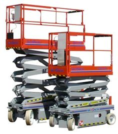 Electric Scissor Lift - Rental for Sheepbridge industrial Estate Businesses and Factories - From MF Hire