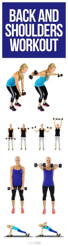Sculpt a sexy back and shoulders for summer!