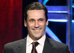 Jon Hamm suffered from depression.