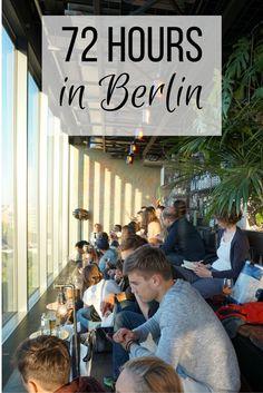 72 Hours in Berlin -- Includes vegan/vegetarian dining options