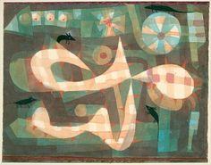 Paul Klee, Die Stachel-Schlinge mit den Mäusen (The Barbed Noose with the Mice…