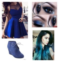 """""""Blue club night"""" by isabella3612 ❤ liked on Polyvore featuring Bonnibel"""