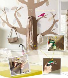 Eine tolle #Garderobe. Das Design eines #Baumes wird zum echten Hingucker. http://www.1-2-do.com