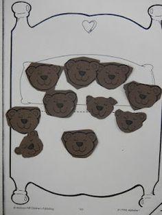Ten in the Bed Bear math