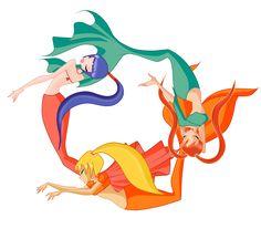winx club as mermaids   Winx Club Mermaids by kayori1928