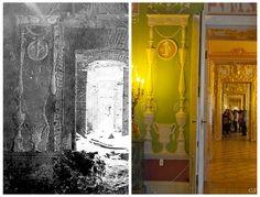 Связь времен / Link to the Past Tsar Nicholas Ii, Palaces, Destruction, Historical Photos, Castles, Royals, World, Painting, Saint Petersburg