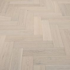 Whitewashed Herringbone Oak Brushed & Lacquered Engineered Wood Flooring Sliding Card Image