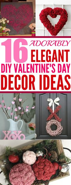Valentine Home Decor Ideas | Frugal, Collage and Coupons