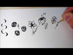Nail Art Training ☺Hand Painted Nail Designs ☑ - YouTube