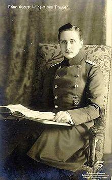 Auguste-Guillaume de Prusse — Wikipédia