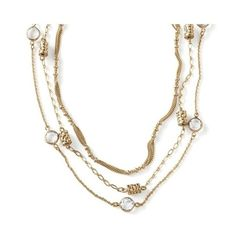 lia sophia Detachable necklaces, each can be detached to change your look $98 (some slight faded areas near clasps)