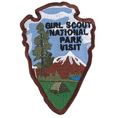 Girl Scout National Park Visit Fun Patch