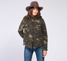 WCS325/N - Cycle #cyclejeans #camo #jacket