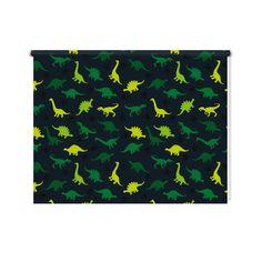 Rolgordijn Dino patroon  De rolgordijnen van YouPri zijn iets heel bijzonders! Maak keuze uit een verduisterend of een lichtdoorlatend rolgordijn. Inclusief ophangmechanisme voor wand of plafond! #rolgordijn #gordijn #lichtdoorlatend #verduisterend #goedkoop #voordelig #polyester #dino #patroon #dinosaurus #dinosauriërs #dino's #jongens #jongenskamer #groen