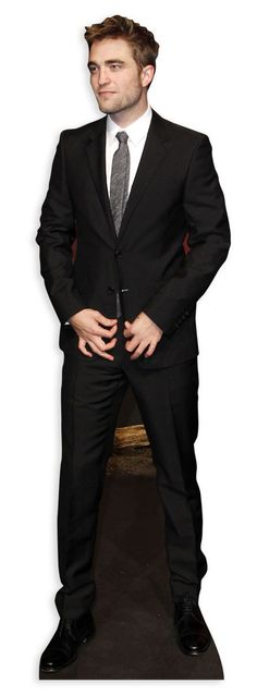 Lifesize Cardboard Cutout of Robert Pattinson buy cutouts & standees at starstills.com