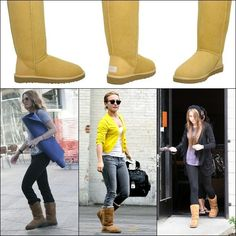 Hey Divas, your Fashion Addict is presenting the boots that are always trendy and never go out of fashion. I am talking about Uggs. The most beautiful boots