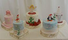 Christmas Cakes for Teachers - by sugarpixy @ CakesDecor.com - cake decorating website