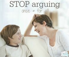 """I want to talk to you about how you can get kids to stop arguing. This can happen now- within a week if you stick to it. My husband and I have called into this cycle of letting our son argue with us. Not a lot, but still… We aren't """"yellers"""" and we...Read More »"""