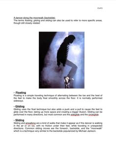 Page 2: Floating, Gliding or Sliding