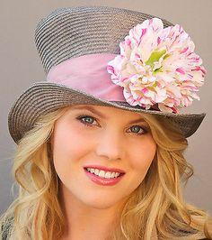 Women Lace Feather Kentucky Derby Formal Church Dress Wedding Hat ...