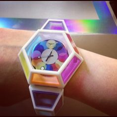 """bizarrefashiontriangle111: Fred Butler """"Dodecahedron Collision"""" Swatch"""