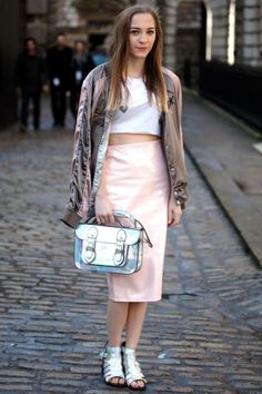 Street Style Photos London Fashion Week - 2014 LFW Street Style Pictures - Elle