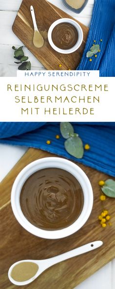 Reinigungscreme selber machen mit Heilerde With healing clay you can make yourself a wonderful, chemical-free and sustainable cleansing cream. Diy Beauty, Beauty Skin, Natural Skin Care, Natural Health, Skin Peeling On Face, Healing Clay, Facial Cleansers, Homemade Skin Care, Natural Cosmetics