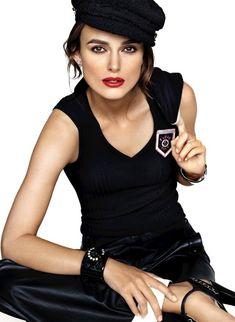 Keira Knightley Barra de labios CHANEL lipstick