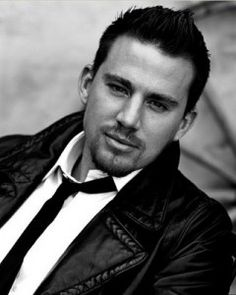 Channing Tatum. I wasn't aware he could get any hotter...that facial hair is really working for him.