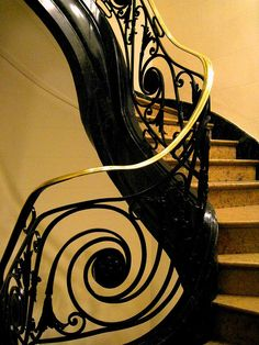 french staircase