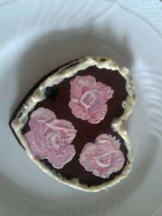 Rose su cioccolata