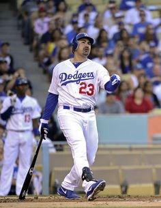 Adrian Gonzalez First Baseman for the Los Angeles Dodgers