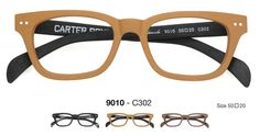 Carter Bond two-toned wood frames. Spectacle-ular