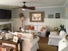 Help with wall decor - Houzz Wall color Rainy Season Dunn Edwards