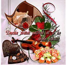 Přání k svátku « Rubrika | OBRÁZKY PRO VÁS Runes, Rooster, Christmas Ornaments, Halloween, Holiday Decor, Animals, Photoshop, Home Decor, Animales