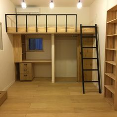 Tiny House Loft, Beds For Small Rooms, Small Apartment Bedrooms, House Rooms, Loft Design, Small Room Bedroom, Loft Room, Loft Beds For Small Rooms, Small Room Design Bedroom