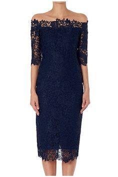 Winter 2015 - Indigo Lace Viola L/S Dress
