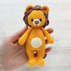 Amigurumi Cuddle Me Lion - Free crochet pattern