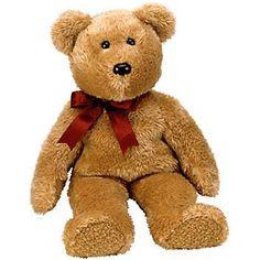 427d9c9a56d Beanie Buddies 19206  Ty Beanie Buddy - Curly The Brown Bear (14 Inch)