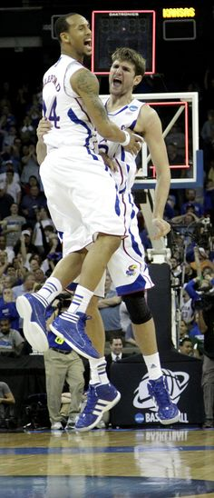 True Joy! Releford & Withey headed to St. Louis for the next round -- Sweet Sixteen!