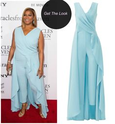Queen Latifah In An Escada Jumpsuit At The Miracles From Heaven Premiere