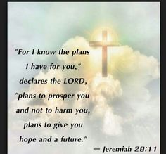God's plans are BEST!