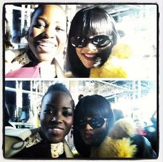 Lupita Nyong'o and Rihanna Pose in Selfie Together in Paris: Picture