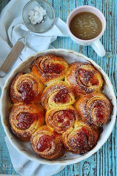 Gabriella kalandjai a konyhában :): 2019 Croatian Recipes, Hungarian Recipes, Banana Dessert, Dessert Bread, Baby Food Recipes, Cooking Recipes, Bread Recipes, Cooking Tips, Health Desserts