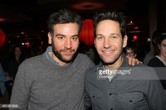 josh Radnor and Paul Rudd at the 3rd Annual Paul Rudd All-Star Bowling Benefit (2015)