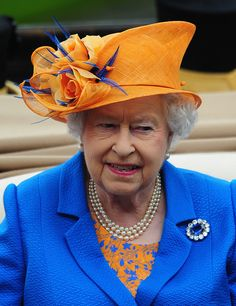 Queen Elizabeth II arrives during the Royal Procession during Day Three of Royal Ascot 2016 at Ascot Racecourse on June 16, 2016 in Ascot, England.