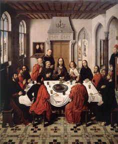 The Last Supper, Dieric Bouts the Elder, 1464