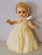 """SWEET 8"""" MADAME ALEXANDER LITTLE GENIUS DOLL IN LOVELY GOWN"""