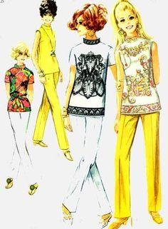 60s MOD patterns
