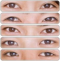You know you're obsessed when you can tell who's who from just their eyes...